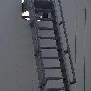 Evergrip Yorkshire Schools GRP Ship Ladder