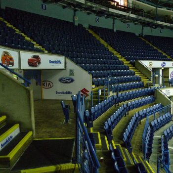 Anti-Slip Stair Covers at the Motorpoint Arena