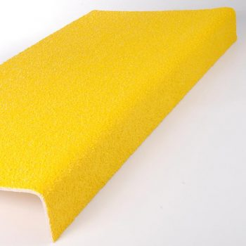 Anti-Slip Flooring Through Colour Stair Nosing Tread Cover Yellow