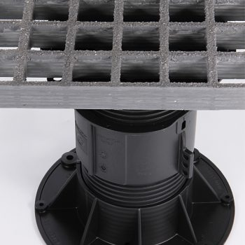 Screwjack Pedestal - Moulded Grating Pedestal Support System