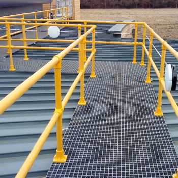 GRP Industrial Handrail Round Section