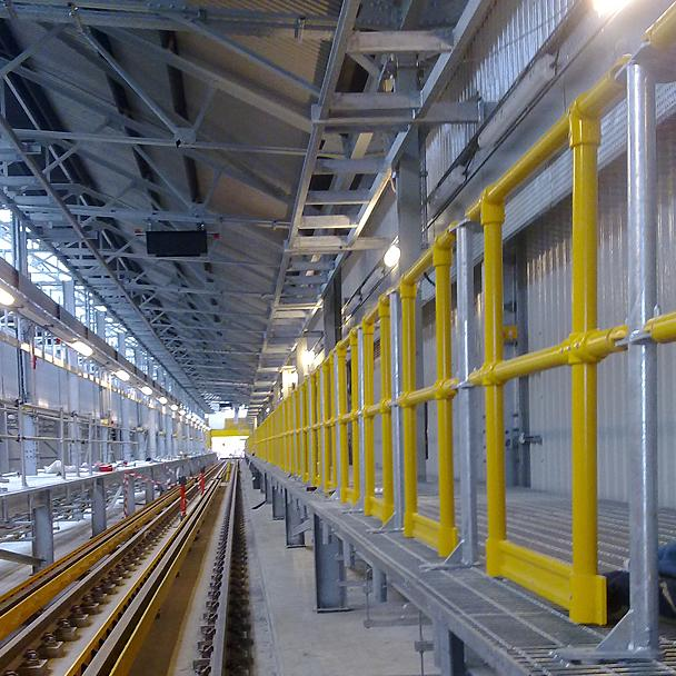 Evergrip railway systems infrastructure