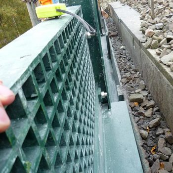 GRP Railway Systems Ballast Panel Systems Close Up