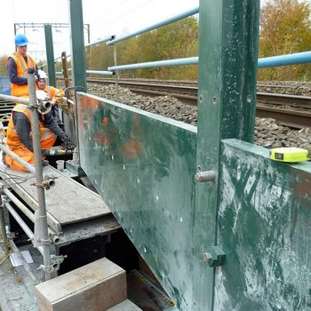 GRP Railway Systems Ballast Panel System Installation