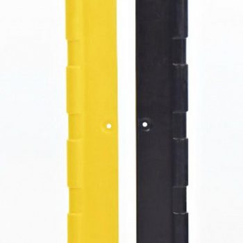 Flex Impact Industrial Safety Barriers Corner Protector Black