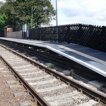 GRP Railway Systems Everdeck Panel Installation