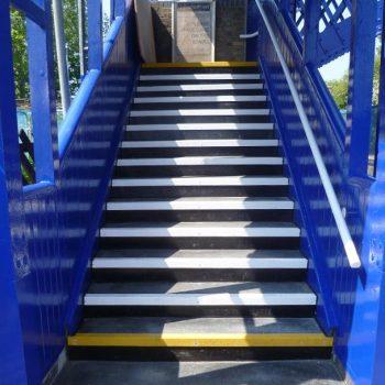 GRP Railway Systems Overline Pedestrian Bridges