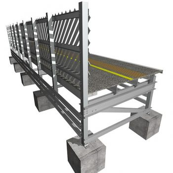 Evergrip GRP Trestle System with Fencing