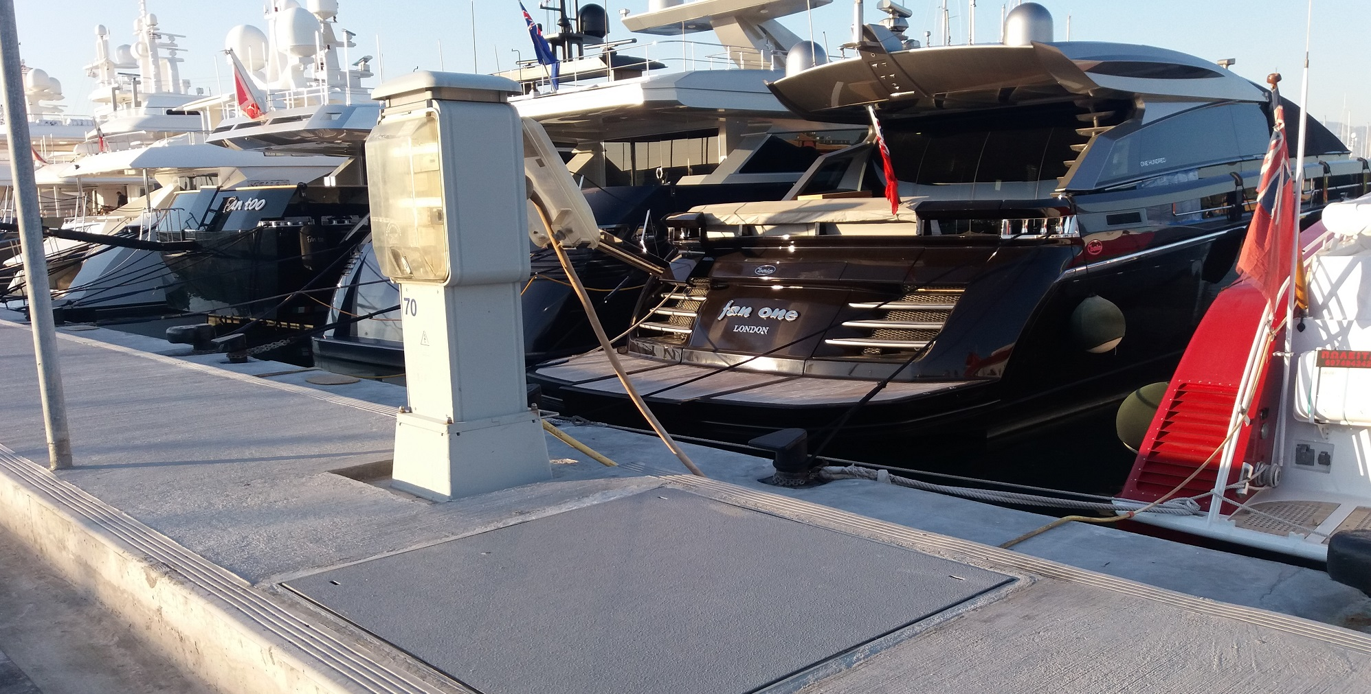 Evergrip Greece GRP Service Covers Flisvos Marina