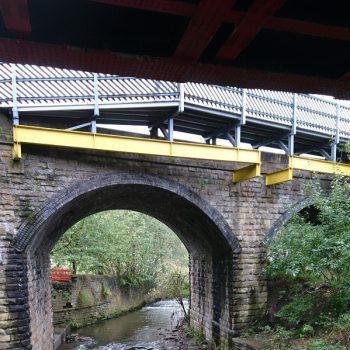 Evergrip GRP Shipley Station Everdeck System Bridge