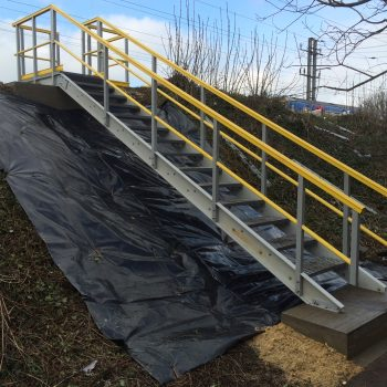 Embankment Access Steps Evergrip