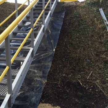 Fibreglass Embankment Steps Evergrip